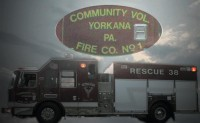 Yorkana Community Fire Company Truck